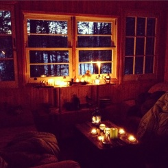 Candlelight in Winter
