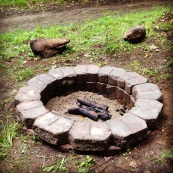 Our New and Improved Firepit