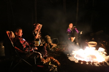 Nothing better than a warm campfire on a cool evening.