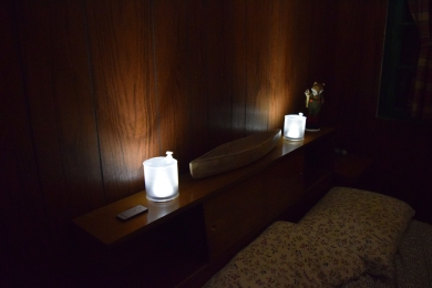 Luci lights are kept in every room.