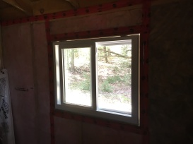 The new window from the inside.