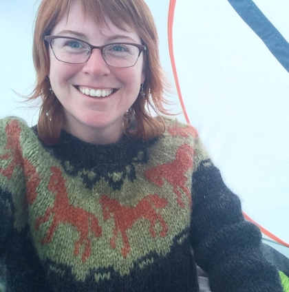 Icelandic sweater bought as a souvenir but was also one of my first sustainable pieces.