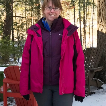 A 3-in-1 Columbia winter jacket given to me.