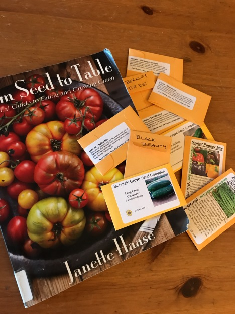 The Beginner's Bible of Gardening and our vast array of heirloom seeds to try growing.